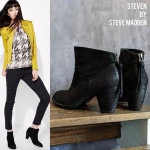 Steven by Steve Madden Wesley Nubuck ankle boots